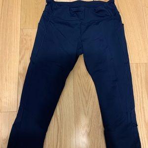 Lululemon leggings navy blue size 10